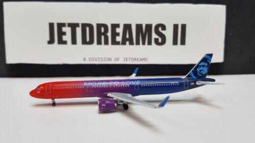 1/400 ALASKA AIRLINES AIRBUS A321-200NEO MORE TO LOVE COLORS N927VA AEROCLASSICS