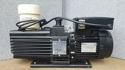 Ulvac Dual-stage Vacuum Pump Model Gld-201b With Omt-200a Filter
