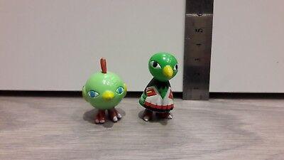 Lot of 2x POKEMON Figure Figurine C.G.T.S.J Natu Xatu Nintendo TOMY Vintage