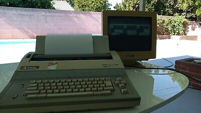 Smith Corona Pwp 5000 Pwp5000 Personal Word Processor Excellent Extra Ink Disk