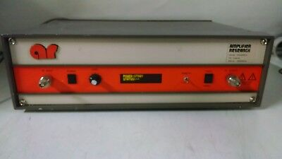 Amplifier Research 25a250a Rf Amplifier 10khz-250mhz 75 W Used