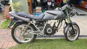 1985 Honda CBX250 basket case project