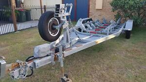 Boat trailer used