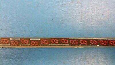 5 Pc Hdsp-u213 Displays Segmented Module 1digit 8led Hi-eff. Red Cc 10-pin Dip