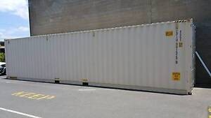 40' HIGH CUBE DOUBLE END DOORS SHIPPING / STORAGE CONTAINER Nerang Gold Coast West Preview