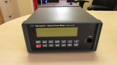 Newport Optical Power Meter Model 1830-c