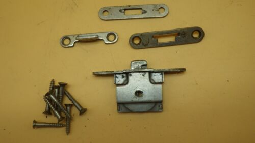 Vintage Singer Sewing Machine Bentwood Case Complete Lock Set  #3