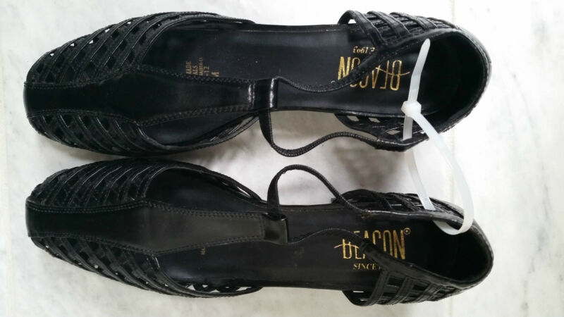 Womens Shoes Black Size 10M Beacon Euro Flex Never Worn