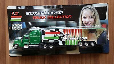 Minitruck 1:87 Formel 1 Truck Collection 2005 Boxenluder Nr. 13 Ungarn in OVP