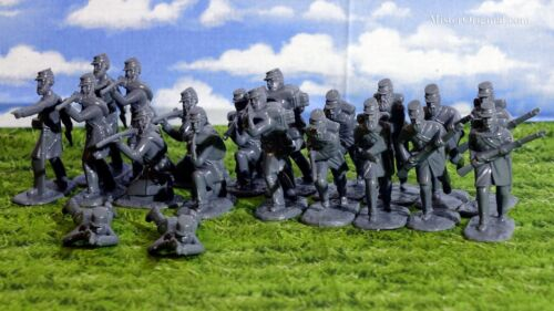 Armies in Plastic Civil War Confederate Marines 1/32 Scale 54mm