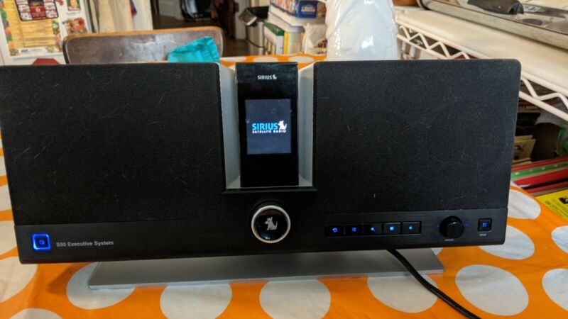 SIRIUS S50 Radio and Executive Docking Station Used, sounds great! SiriusXM