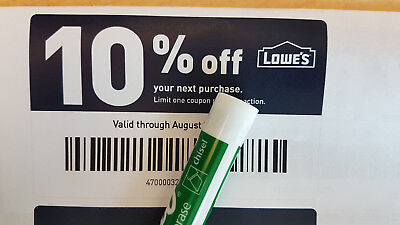 One Lowes 10% Off Online & In-Store 1Coupon   Instant delivery   Exp 05/31/19