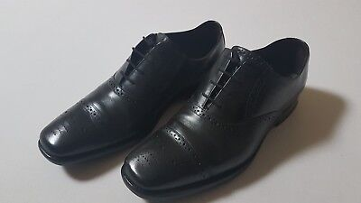 Barker UK 8g Shoe black Oxford Semi Brogues