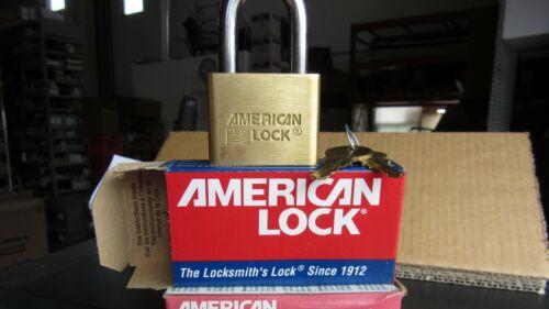 American Lock AL50KA Solid Brass Lock Keyed Alike 2 Keys per Lock USA NEW!!