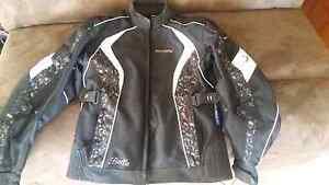 Ladies motorbike jacket and helmet Seville Grove Armadale Area Preview