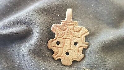 Stunning zoomphoric Viking copper pendant. Please must read description. L134v
