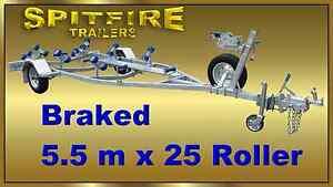 5.6M Braked HDG Boat Trailer 1500kg ATM - $2999 (inc walkway) Crabbes Creek Tweed Heads Area Preview
