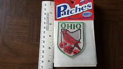 Ohio Cardinal Travel Souvenir Patch - Brand New - Free Shipping!