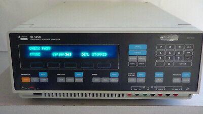Solartron Si 1250 Frequency Response Analyzer W Warranty