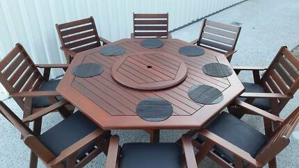 OUTDOOR FURNITURE SALE! - Quality 10 PCE Kwila dining setting Brisbane City Brisbane North West Preview