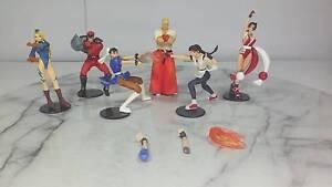 Capcom Vs SNK Gashapon Set of 6 Anime Figures Salisbury Brisbane South West Preview