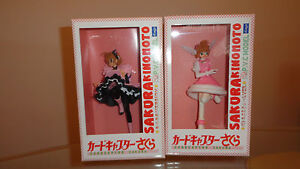 Card-Captor-Sakura-Cat-Ear-Winged-Costume-Vers-Anime-Figure-Clayz-FREE-SHIP