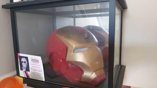 Signed Custom Made Iron Man Helmet