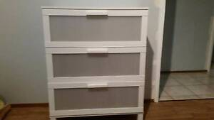 Chest of drawers white ikea Beckenham Gosnells Area Preview