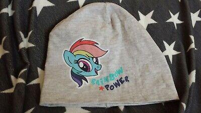 H&M Mädchen Mütze Beanie Rainbow Dash Gr. 92/104 My Little Pony