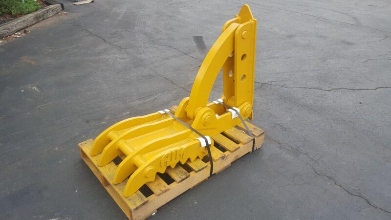 """New 18"""" X 46"""" Heavy Duty Mechanical Thumb For Excavators"""