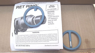 """5 RET RINGS # 21-967-(2-1/16"""" OD)REF#10008 ,NOT IN BOX,MADE IN USA"""
