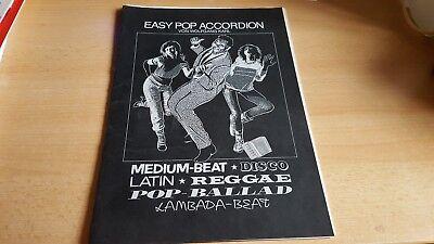Easy POP ACCORDEON - Wolfgang Kahl