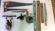Antique Tools, Fishing Reels and Cut Throat Razors Nowra Nowra-Bomaderry Preview