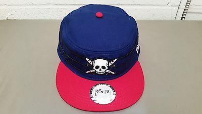 new Fourstar red/blue new era fitted skate cap