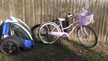 Cruiser bike and trailer Dubbo 2830 Dubbo Area Preview
