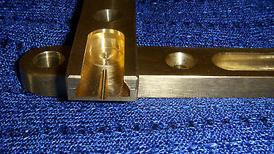 Brass ILF Plates long for Wood Risers 3 1/4x3/4x5/16!!!!!