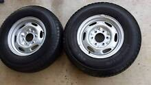 4X4 TRAILER WHEELS MAZDA BRAVO FORD COURIER RANGER 215/80R15 4WD Kallangur Pine Rivers Area Preview