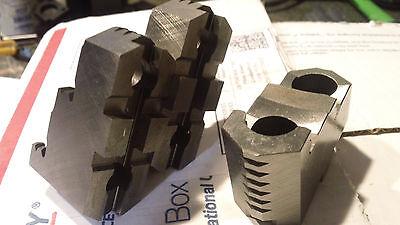 (Ten sets Bison bolt on hard top jaws for 6 1/4