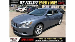 2012 Nissan Maxima SV| SUNROOF| LEATHER| HEATED SEATS