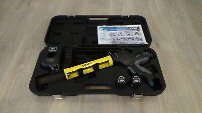 Akku-Silikonspritze Cox 310ml Kartuschenpresse  Kartuschenpistole Silikonpistole gebraucht kaufen  Versand nach Germany