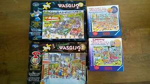 4 Wasgij puzzles Port Fairy Moyne Area Preview