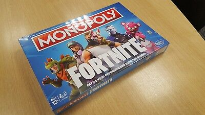Hasbro Fortnite Monopoly Board Game Brand New And Sealed Ebay