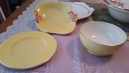 Royal winton grimwades sugar bowl and dishes