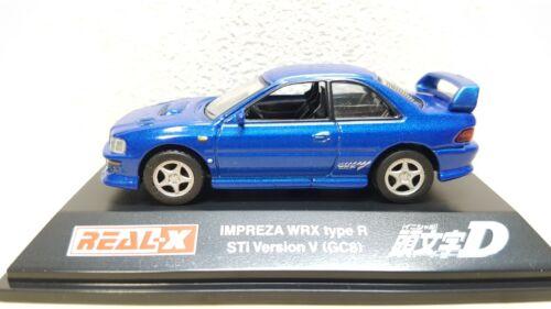 1/72 Real-X Initial D SUBARU IMPREZA WRX STI GC8 BUNTA diecast car model