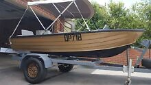 3.7m Savage Tinny 9.9hp Evinrude Outboard Sunbury Hume Area Preview
