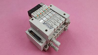 SMC EX140-SDN1-X116 Valves Serial Unit Devicenet Interface 10x SV2,USED