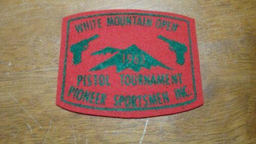 new Hampshire white mountains open pistol tournament pioneer sportsmen bx 12 #1