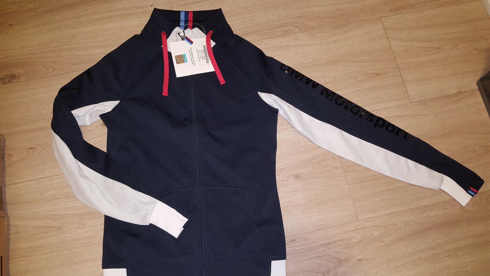 Original BMW M Motorsport Sweatshirt Jacke EDEL NEU in OVP ! Gr. M