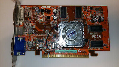Carte graphique PCIE ASUS Radeon X550 EAX550HM512/TD/256M/A 256Mb TESTED