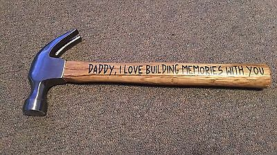 Fathers Day Frames (Personalized hammer, Fathers Day, Christmas)